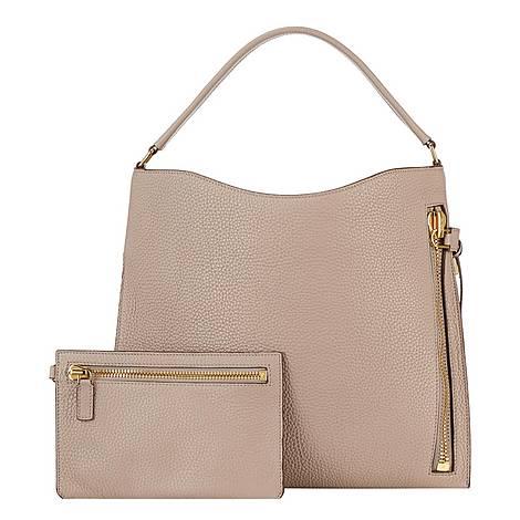 Alix Small Hobo Bag, ${color}