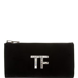 Crystal Pave Clutch