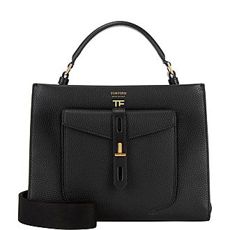 Hollywood T Twist Small Top Handle Bag