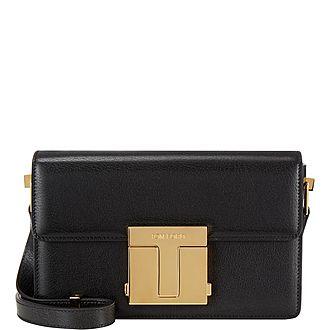 Shiny Grained Leather Medium 001 Bag