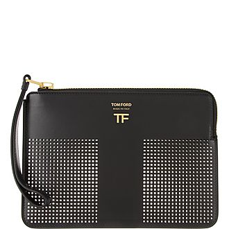 Perforated Graphic T Clutch