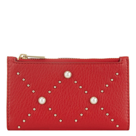 Hayes Street Small Pearl Wallet, ${color}