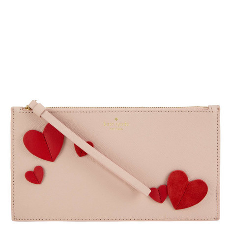 Ariah Heart Clutch, ${color}