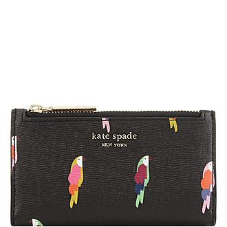 Sylvia Flock Party Slim Wallet