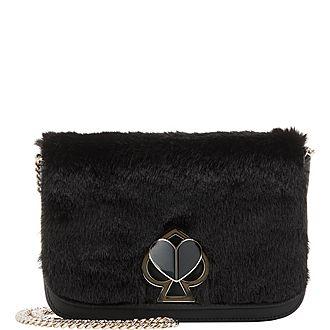 Nicola Faux Fur Shoulder Bag