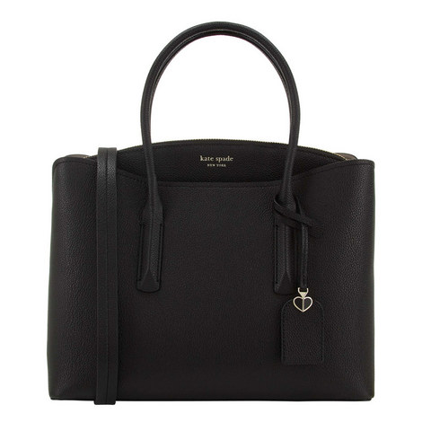 Margaux Large Satchel Bag, ${color}