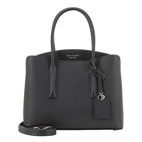 Margaux Medium Satchel Bag, ${color}