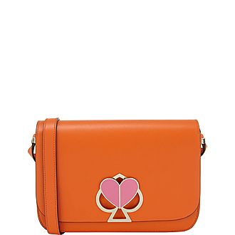 Nicola Twistlock Medium Crossbody Bag
