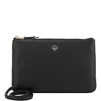 Bagspolly Medium Gusset Crossbody Bag