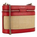 Wicker Rose Crossbody Bag, ${color}