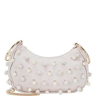 Collins Pearl Pavé Bracelet Clutch