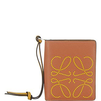 Anagram Small Zip Around Wallet