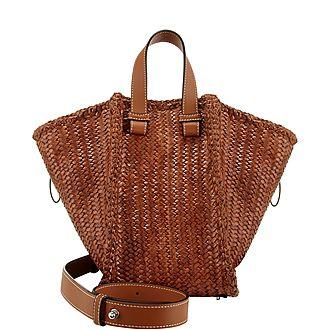 Hammock Woven Medium Handbag