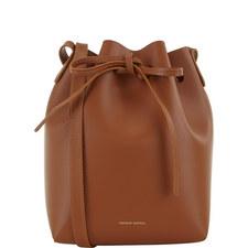 Leather Bucket Bag Mini