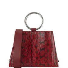 Polly Snakeskin Bag Small