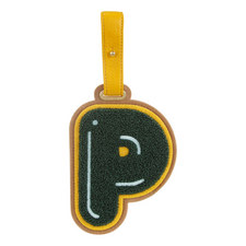 Letter 'P' Luggage Tag