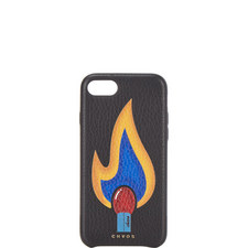 Match Flame Leather iPhone 7/8 Case