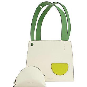 Margot Cotton Shamrock Tote Bag