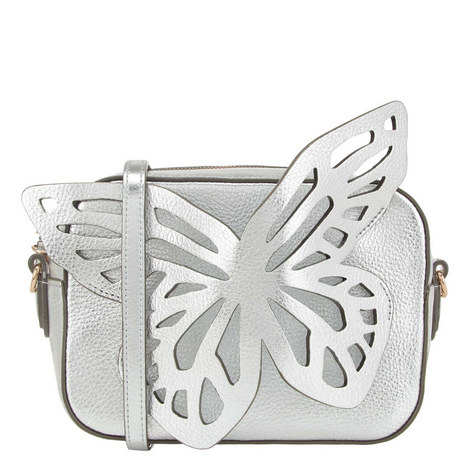 Flossy Butterfly Camera Crossbody Bag, ${color}