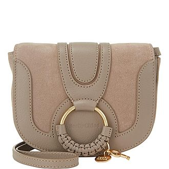 Suede Hana Crossbody Bag