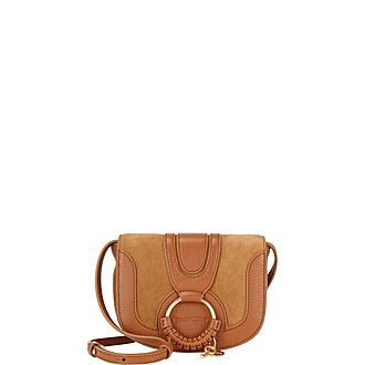 Hana Suede Mini Crossbody Bag