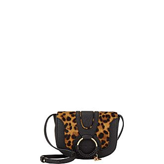 Hana Leopard Mini Crossbody Bag
