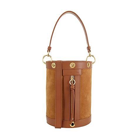 Debbie Medium Bucket Bag, ${color}