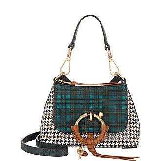 Joan Plaid Mini Shoulder Bag