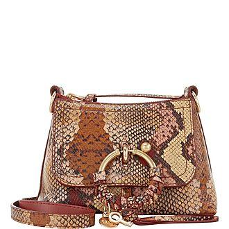 Joan Python Mini Bag