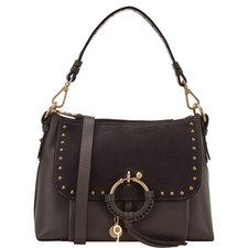 Joan Studded Shoulder Bag Medium