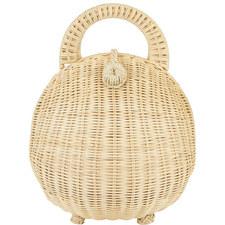 Millie Rattan Basket Bag