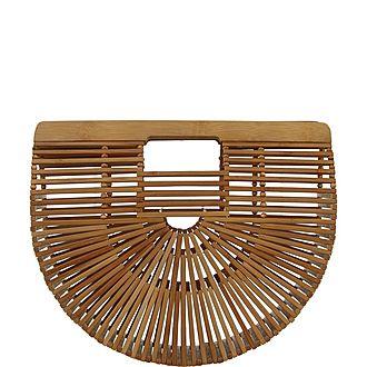 Ark Wood Small Clutch Bag