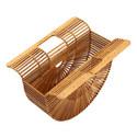 Ark Wood Large Clutch Bag, ${color}