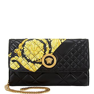 Quilted Baroque Shoulder Bag