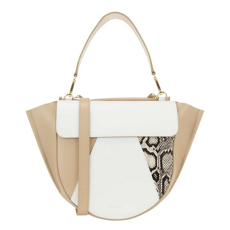 Hortensia Colour Block Medium Shoulder Bag, ${color}