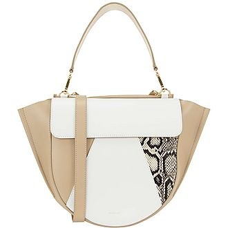 Hortensia Colour Block Medium Shoulder Bag