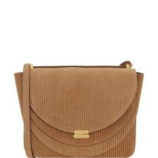 Luna Corduroy Shoulder Bag