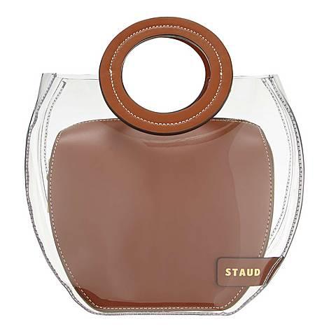 Freda Curved Handbag, ${color}