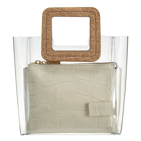 Shirley Clear Mini Tote Bag, ${color}