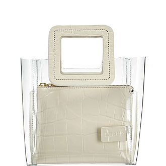 Shirley Clear Mini Tote Bag