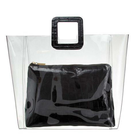 Shirley Clear Large Tote Bag, ${color}