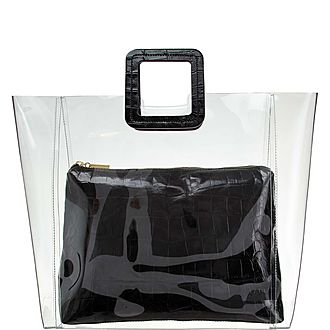 Shirley Clear Large Tote Bag