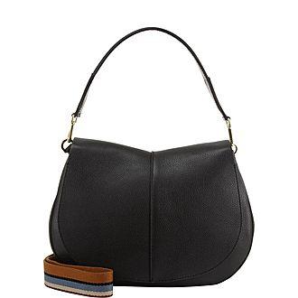 Helena Round Large Shoulder Bag