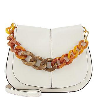 Helena Resin Handle Shoulder Bag