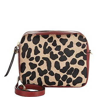 Olivia Leopard Camera Bag