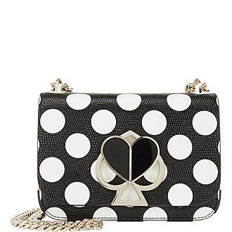 Dotted Nicola Shoulder Bag