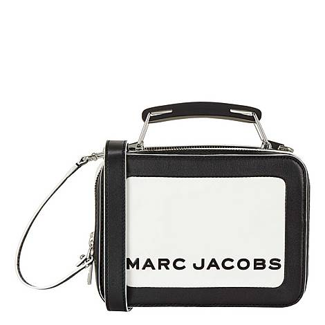 Colour Blocked Mini Box Crossbody Bag, ${color}