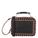 Whipstitch Mini Box Crossbody Bag, ${color}