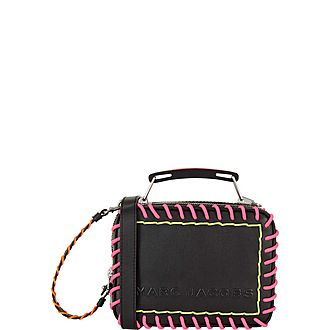 Whipstitch Mini Box Crossbody Bag
