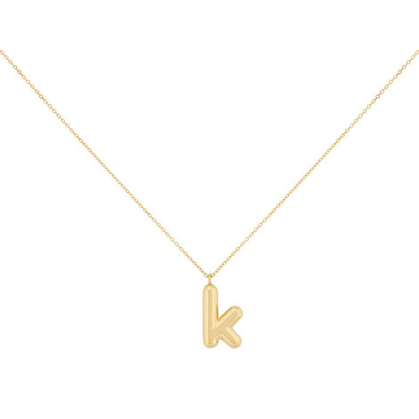 Bubbly K Pendant, ${color}